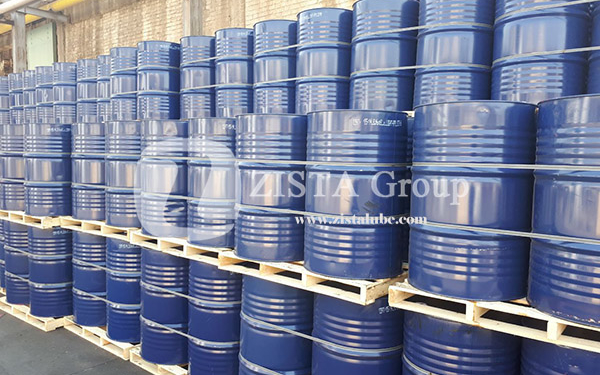 Rubber Process Oil in New Steel Drums